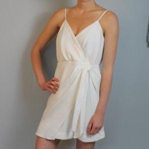 NWT stylestalker white Summer mini dress